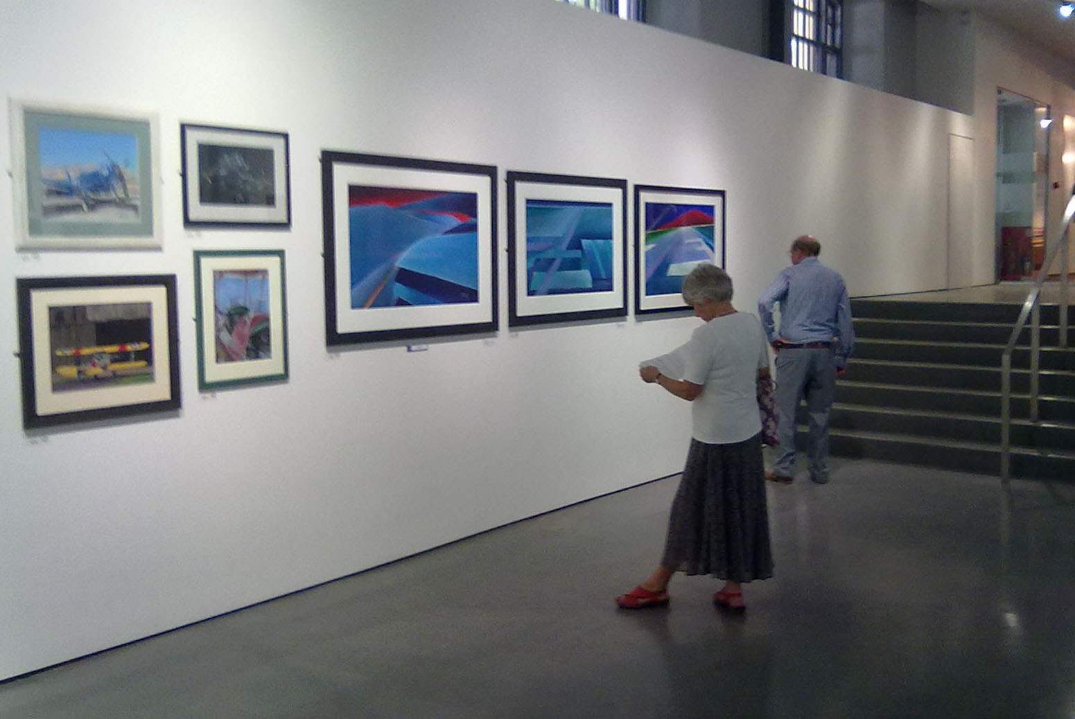 aviation art at Guild of Aviation exhibition in mall gallery london