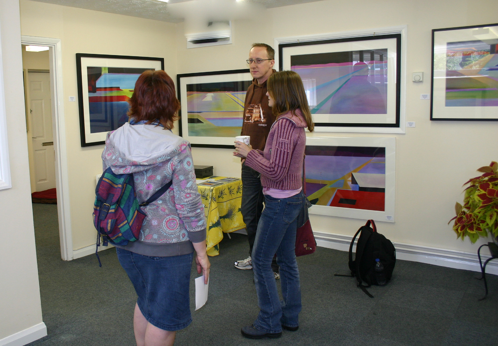 alan brain art show at fairoaks