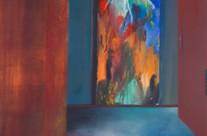semi abstract art – visitors II