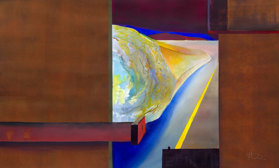 bold vibrant original paintings - looking out