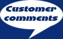 link from customer comments page
