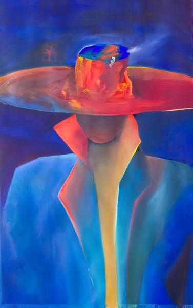 rSpanish abstract figure painting Senor!