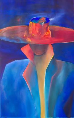 Spanish figure painting Senor-again