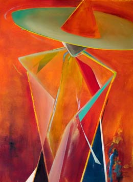 abstract figure paintings