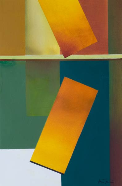 yellow abstract paintings - Tumble