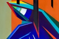 powerful abstract figure art – pain