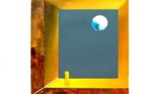 Geometric abstract art – original painting – Farewell
