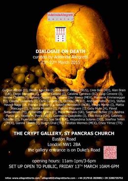 dialogue with death logo