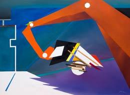 modern vibrant art Joy