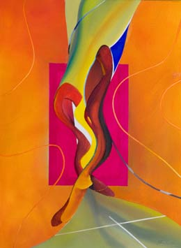 Modern abstract figure paintings