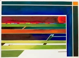 abstract-geometric-painting called passing freight