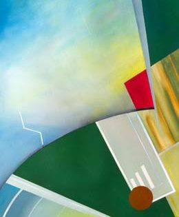 original abstract aviation art that captures the feeling of flying – Spin