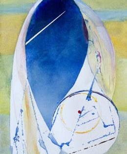 abstract figure paintings –  simple beautiful shape – the Hijab