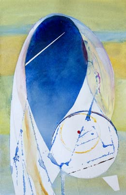 abstract figure paintings –  simple beautiful shape – the Hijab