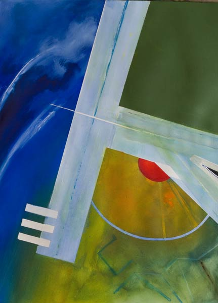 different aviation paintings - Spin II