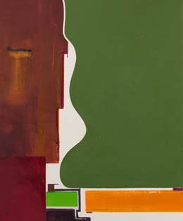 """abstract paintings – no recognisable shapes but lots of that """"certain feeling"""" –"""