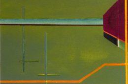 geometric watercolours by alan brain. imaginative paintings  -serenity