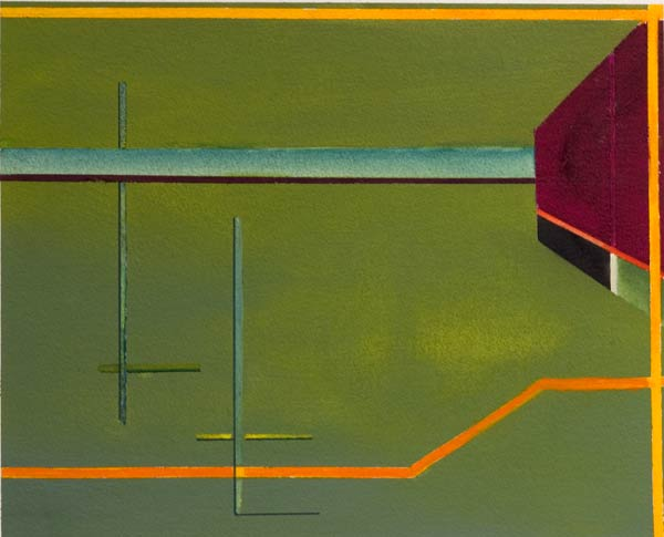 geometric watercolours imaginative paintings -serenity